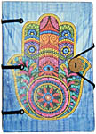 Handmade Journal: Hamsa Hand