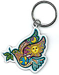 Keyring: Peace Dove