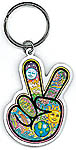 Keyring: Peace Fingers