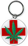 Keyring: Medical Leaf