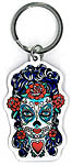 Keyring: Sugar Skull Lady (NEW)