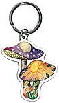 Keyring: Celestial Mushrooms