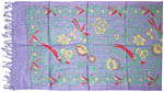 Mini Sarong 22x72 inch: Birds of Paradise