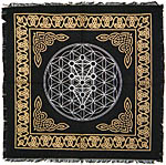 Altar Cloth 18x18 inch: Kabbalah Tree of Life