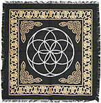 Altar Cloth 18x18 inch: Seed of Life