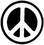 Sticker # 317 Peace Sign