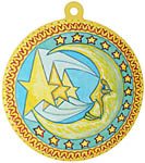 Color Sticker: LS Moon and Stars, 4.5 inch (NEW)