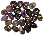 Runes: Amethyst rune set, 25 pcs (NEW)