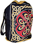 Cotton Backpack: Celtic Knot