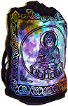 Cotton Backpack: Buddha