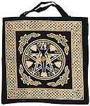Tote Bag: New Pentacle with Goddess