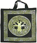 Tote Bag: Tree of Life, GREEN
