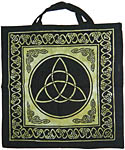 Tote Bag: Charmed (Triquetra), Green