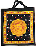 Tote Bag: Sun God, Golden