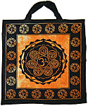 TOTE BAG: Seven Chakras, ORANGE
