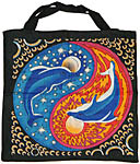 Tote Bag: Dolphins out the Yin Yang (NEW)