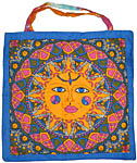Tote Bag: Sacred Sun, Multicolor (NEW)