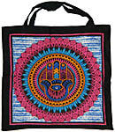 Tote Bag: Hamsa Hand, MULTICOLOR (NEW)