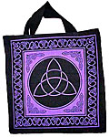 Tote Bag: Charmed (Triquetra), Purple