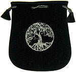 Velvet Pouch: Tree of Life