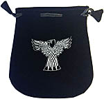 Velvet Pouch: Celtic Eagle