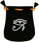 Velvet Pouch: Egyptian Eye
