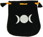 Velvet Pouch: Triple Moon