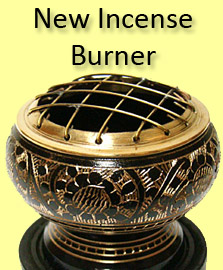 New Brass Incense Burner