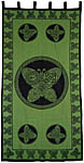 CURTAIN: Butterfly, Green