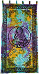 CURTAIN: Buddha in Tie Dye
