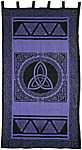 CURTAIN: Triquetra, Purple