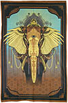 Twin Size Tapestry: African Elephant