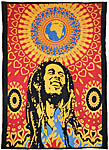 Twin Size Tapestry: Loving Life-Bob Marley