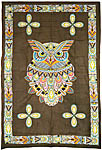 Twin Size Tapestry: Sacred Owl