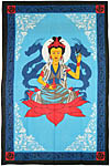 Twin Size Tapestry: Quan Yin