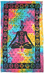 Twin Size Tapestry: Seven Chakra