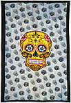 Twin Size Tapestry: Sugar Skull