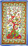 Twin Size Tapestry: Tree of Life