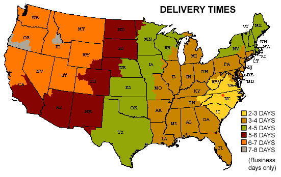 Delivery Times