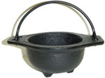 Cast Iron Cauldron, 3 inch