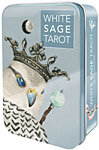 Tarot Deck: White Sage Tarot in Tin